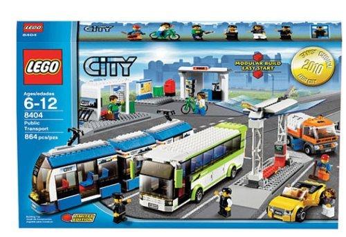 suministramos lo mejor LEGO LEGO LEGO città Set  8404 Public Transport (japan import)  almacén al por mayor