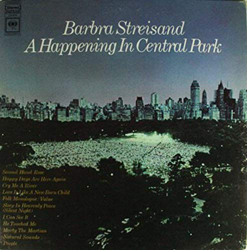 Barbra Streisand: A Happening in Central Park - LP Vinyl Record Album