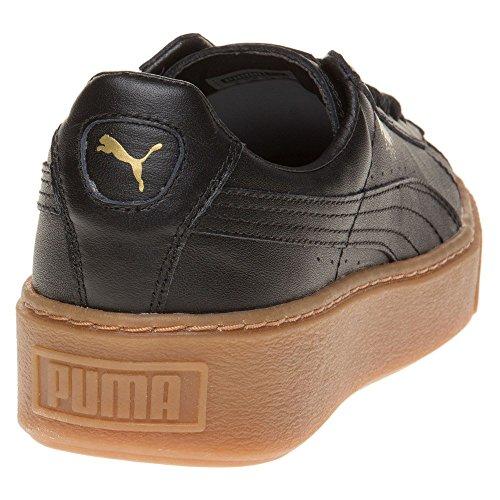 Puma Basket Platform Core Donna Sneaker Nero