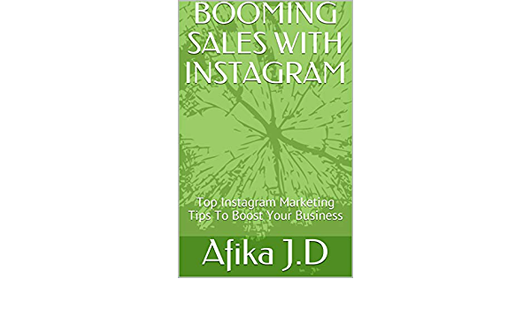eBook for Booming Sales With Instagram