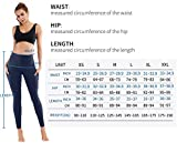 PHISOCKAT High Waist Yoga Pants with Pockets, Tummy Control Yoga Pants for Women, Workout 4 Way Stretch Yoga Leggings