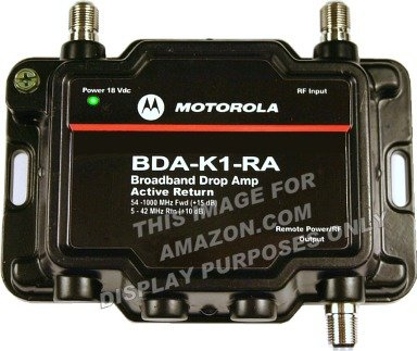 Motorola Signal Booster 1 Port Amplifier product image