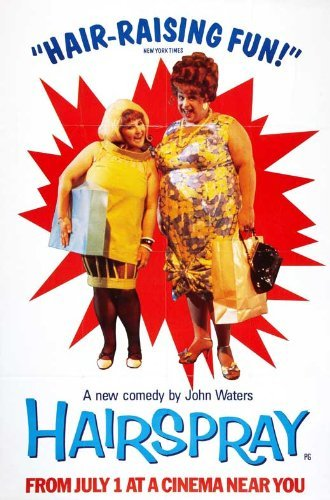 Lake Movie Poster - Hairspray POSTER Movie (27 x 40 Inches - 69cm x 102cm) (1986) (Style C)
