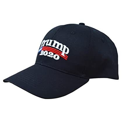 8b47b59ca67 Image Unavailable. Image not available for. Color  E-dance Make America  Great Again Donald Trump 2020 USA Cap Adjustable Baseball Hat Black