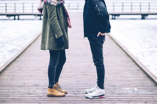 Home Comforts LAMINATED POSTER Leather People Shoe Couple Br