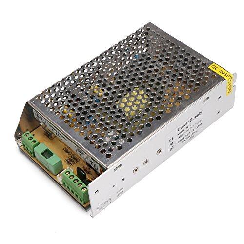 DROK 110V 220V UPS Battery Backup Uninterruptible Switching Power Supply 12V 120W 110V-240V to 13.5V DC 50/60Hz with Battery Interface for Charging