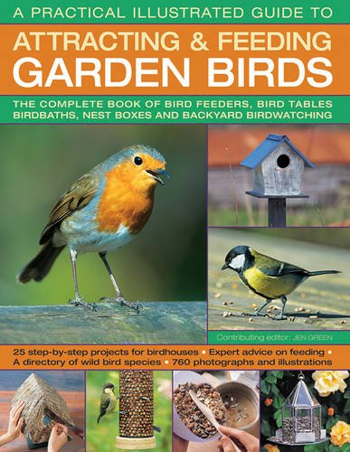Read Online A Practical Illustrated Guide To Attracting & Feeding Garden Birds: The Complete Book Of Bird Feeders, Bird Tables, Birdbaths, Nest Boxes And Backyard Birdwatching pdf epub