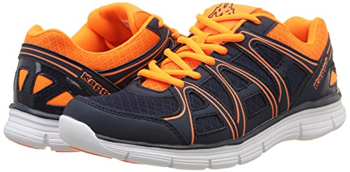 Mesh Bleu Marine orange Blue Org Ville Chaussures Ulaker Kappa navy Mode Aq5wCxB