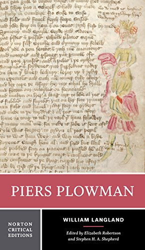 Piers Plowman (First Edition)  (Norton Critical Editions) (Norton Anthology Of Theory And Criticism 1st Edition)