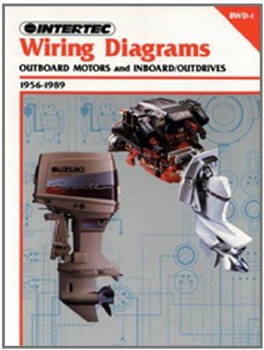 outboard wiring diagrams amazon com intertec wiring diagrams for outboard motors and outboard motor wiring diagrams intertec wiring diagrams for outboard