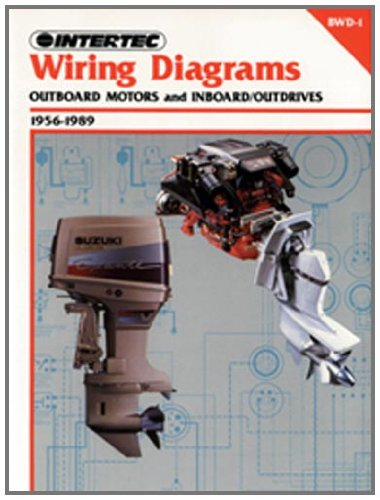 Wiring Diagram For Outboard Motor: Intertec Wiring Diagrams for Outboard Motors and Inboard Outdrivesrh:amazon.com,Design