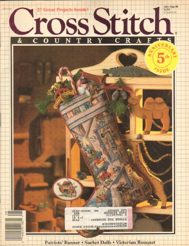 Cross Stitch and Country Crafts, July/ August 90