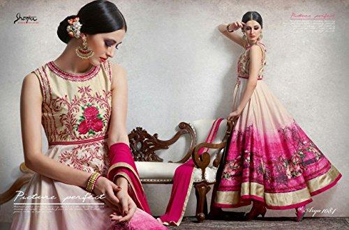 Eid Muslim Women Wear Dress Party Western Gown Ethnic Designer Hijab Indian Anarkali Salwar Kameez suit 8801