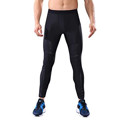High-elastic Mens Compression Leggings Fitness Gym Sports  Layer Pants 50