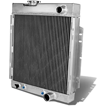For Ford Mustang Full Aluminum 3-Row Racing Radiator - 1 Gen Sherlby V8 Manual MT only