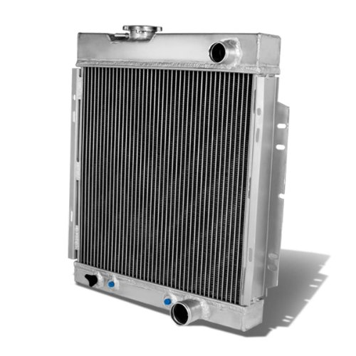 DNA Motoring RA-FM64-3 Aluminum Racing Radiator