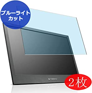 【2 Pack】 Synvy Anti Blue Light Screen Protector for Lenovo ThinkVision LT1421 Wide Monitor 1452DB6 Anti Glare Screen Film Protective Protectors [Not Tempered Glass]