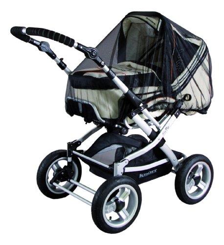 Sunnybaby 10359 - Universal-Insektenschutz passend für Kinderwagen, Sportwagen, Jogger und Reisebett, schwarz