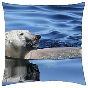URSO POLAR - Throw Pillow Cover Case (18