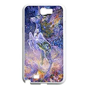 unicorn,Pegasus Horse art Hard Plastic phone Case Cover For Samsung Galaxy Note 2 Case ZDI130241