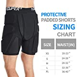 Youper Protective Padded Shorts for