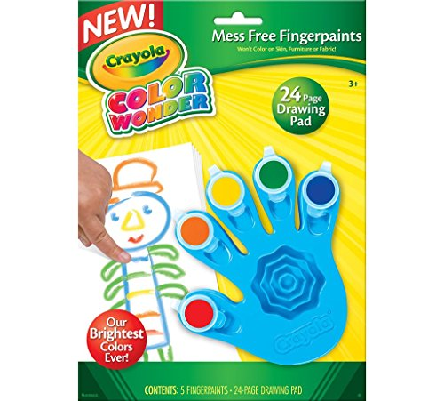 Crayola Color Wonder Fingerpaints ( FOR AGES 3 AND UP )