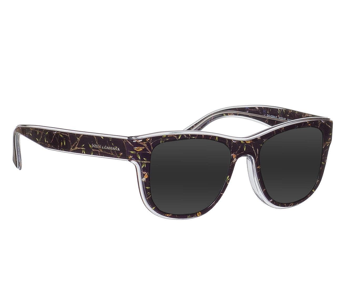Amazon.com: Dolce & Gabbana dg4284 F de los hombres anteojos ...