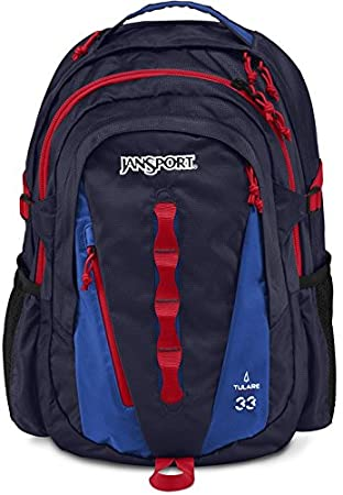 Amazon.com: JanSport Tulare Backpack - Navy Moonshine/Blue Streak ...