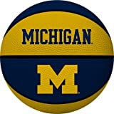 NCAA Michigan Wolverines Alley Oop Dunk Basketball by Rawlings