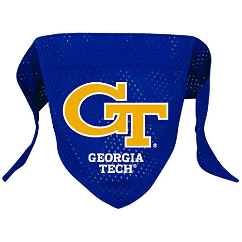 NCAA Georgia Tech Yellow Jackets Pet Bandana, Team Color, Small