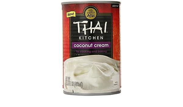 Amazon.com: Thai Kitchen Coconut Cream, 13.77 Ounce (Pack of 6):