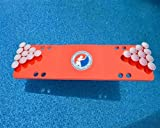 Red Travel Sized Foam Beer Pong Table