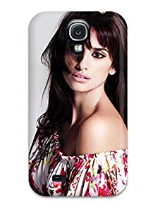 Richard V. Leslie's Shop Hot 1417758K99463512 Top Quality Protection Penelope Cruz 26 Case Cover For Galaxy S4