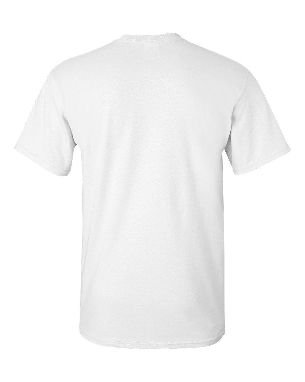 G500 T-Shirt - White,XXX-Large Gildan Heavy Cotton 5.3 Oz