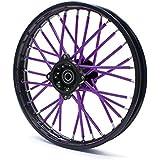 Spoke Skins - Fundas para radios de moto, color violeta