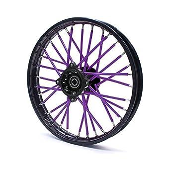 Spoke Skins - Fundas para radios de moto, color violeta: Amazon.es ...