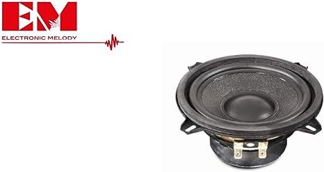 Mid Woofer Altoparlante da/5/13 Cm Woofer per Auto - 130 mm. Utilizzabile come Ricambio per Casse Acustiche hi-fi casa Amplificate//Passive Potenza 120 W max Dimensioni Standard