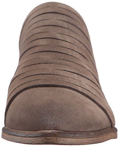 Mocassino Da Donna Danika Slip-on In Pelle Scamosciata Color Talpa