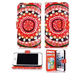 Andre-case Fashion Design Premium PU Leather Wallet case cover With Card Holder for iphone 5s 6U5sq3VwO5d6 5ss