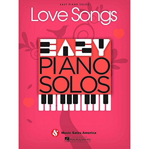 Love Song Sheet Music - Music Sales Love Songs - Easy Piano Solos