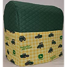 Green & Yellow Tractor Kitchenaid Stand Mixer Cover (3.5 Artisan Mini Tilt Head)