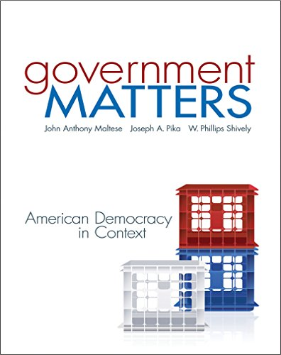 Download Government Matters: American Democracy in Context Pdf