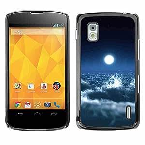 Shell-Star ( Space Planet Galaxy Stars 39 ) Fundas Cover Cubre Hard Case Cover para LG Google NEXUS 4 / Mako / E960