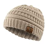 #7: American Trends Kids Baby Toddler Winter Knit Warm Hats for Boy Girl Beanie Caps