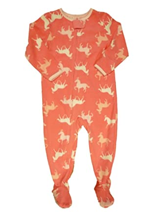 875e7375a8 Carter s Infant   Toddler Girls Pink Horse Sleeper Pony Sleep   Play Pajamas  24m