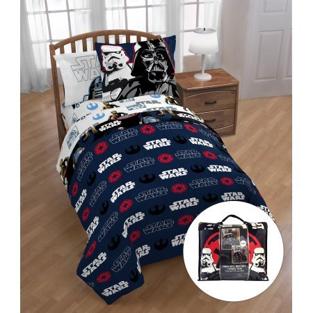 Star Wars Classic Kids Twin Bed in a Bag with Bonus Tote