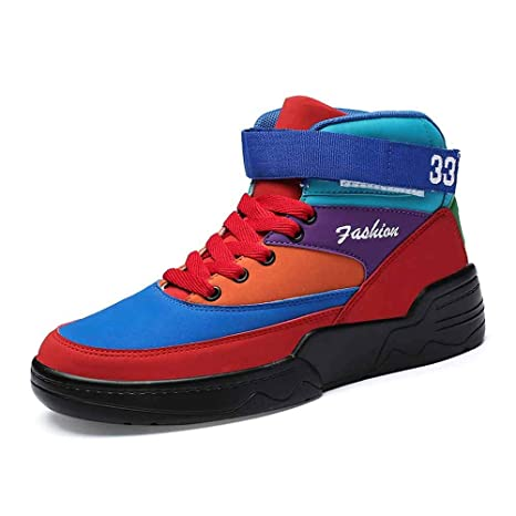 YSZDM Zapatillas de Baloncesto para Hombre, Zapatillas de Deporte ...