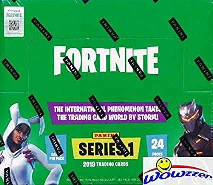 PANINI-Fortnite-Trading Cards 5 Blaster Boxe