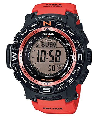 Casio Reloj Digital para Hombre de Automático con Correa en Resina PRW-3500Y-4ER: Amazon.es: Relojes