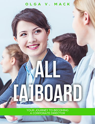 All [A] Board: Your Journey to Becoming a Corporate Director